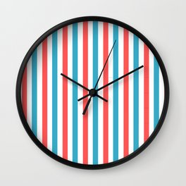 Stripes circus collection Wall Clock