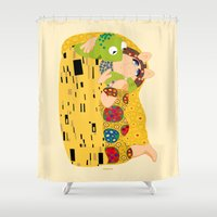 muppets Shower Curtains featuring Klimt muppets by tuditees