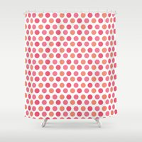 chic Shower Curtains featuring chic by VanyNany