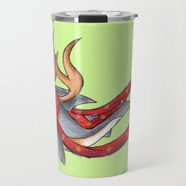 Reindeer Shark Travel Mug