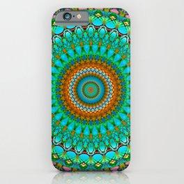 Geometric Mandala G388 iPhone Case