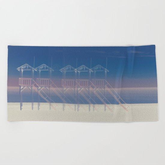 Summer beach Beach Towel