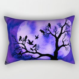A Murder of Crows 3 Rectangular Pillow