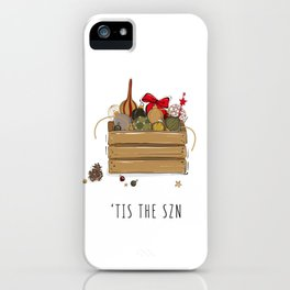 Tis the SZN iPhone Case