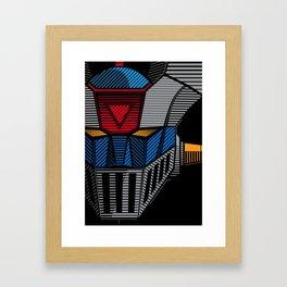 089 Mazinger Z Full Framed Art Print