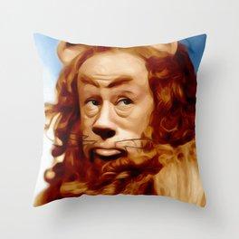 Bert Lahr as the Lion Throw Pillow