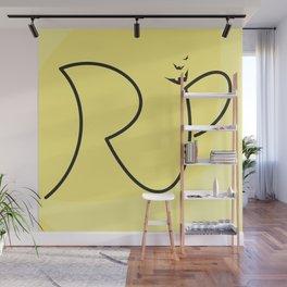 H A L L O W E E N  Special R.I.P. Signature Designed by Atalay Visuals Wall Mural