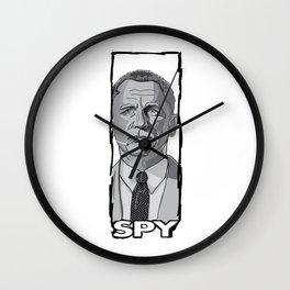 Spy Wall Clock