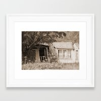 rustic Framed Art Prints featuring Rustic by Becky Wilcox-Brann