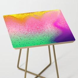 Confetti Party Side Table