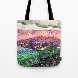 Big Mountians Tote Bag