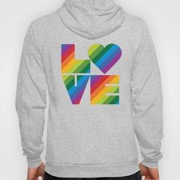 Rainbow Love Hoody