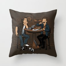 Downtime is Pie Time Throw Pillow