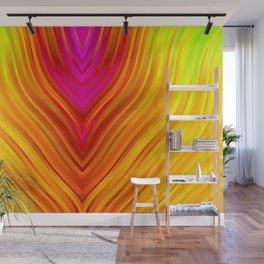 stripes wave pattern 3 s180 Wall Mural