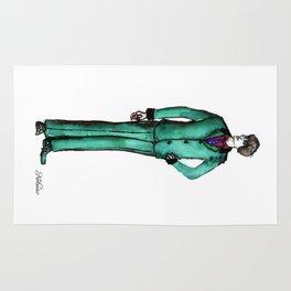 Beetles Green Dandy Rug