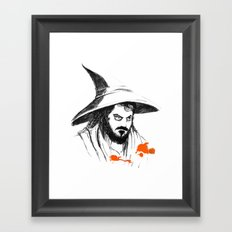 You're wizard Stanley Framed Art Print