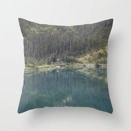 Upper Dewey Lake Reflection Throw Pillow