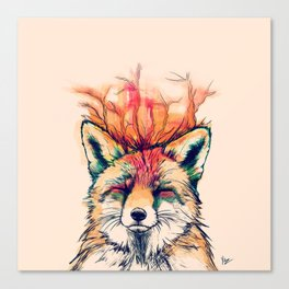 Fox Yeah! Canvas Print