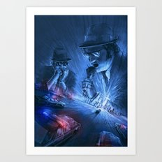Holy-Road Art Print