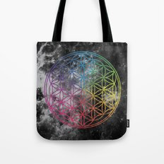 Sacred Geometry Universe 6 Tote Bag