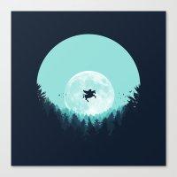 fairytale Canvas Prints featuring Fairytale by filiskun