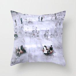Les Halles, Paris Throw Pillow