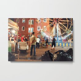 Brooklyn Natural Metal Print
