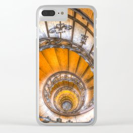 The Spiral Staircase Clear iPhone Case