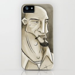 Bald Man iPhone Case