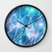 gundam Wall Clocks featuring Gundam Retro Space 3 - No text by Stefan Trudeau