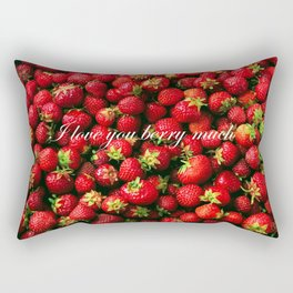 Love you berry much Rectangular Pillow