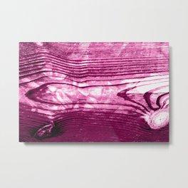 Pop Art Wood  Metal Print