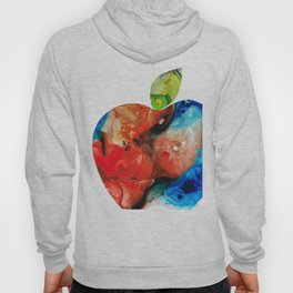 An Apple A Day - Colorful Fruit Art By Sharon Cummings Hoody