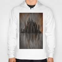 metropolis Hoodies featuring Metropolis by Robin Curtiss