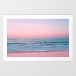 Gorgeous Pink Sunset Art Print