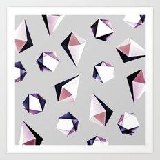 Origami #5Y Art Print
