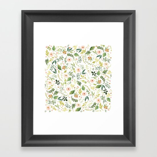 Botanical Spring Flowers by junkydotcom