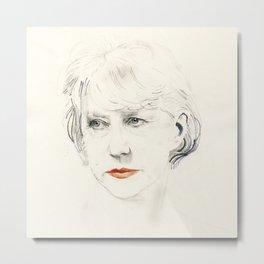 Helen Mirren Metal Print