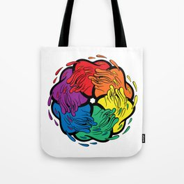 Pride Love Movement Tote Bag
