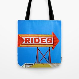 Let's Ride Tote Bag