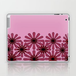 Pink Flower Pattern 1 Laptop & iPad Skin
