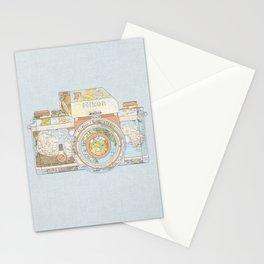 TRAVEL NIK0N Stationery Cards