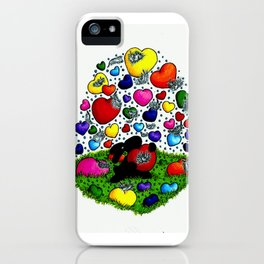 happy inspirations 6 choose love iPhone Case