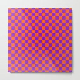 Checkered Pattern VIII Metal Print
