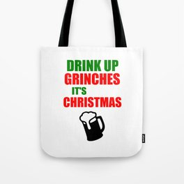 grinchies its Christmas festive Tote Bag