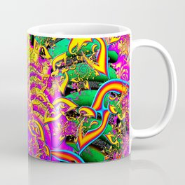 Like Candy Psychedelic 3D Abstract Coffee Mug