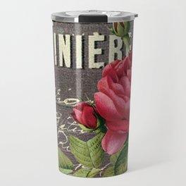 Vintage red rose #2 Travel Mug