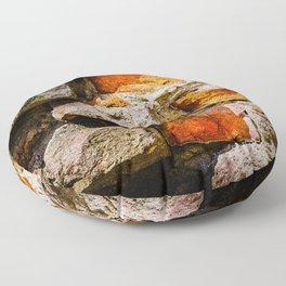 Bricks And Mortar Floor Pillow