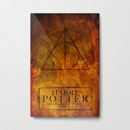 Deathly Hallows Part 2 Metal Print
