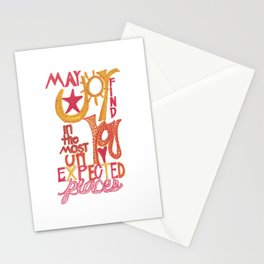 May JOY Find You in the Most Unexpected Places Stationery Cards